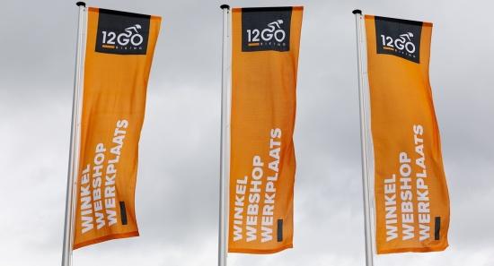 News image Unser Sortiment an Textilien für Flaggen und Außenbanner