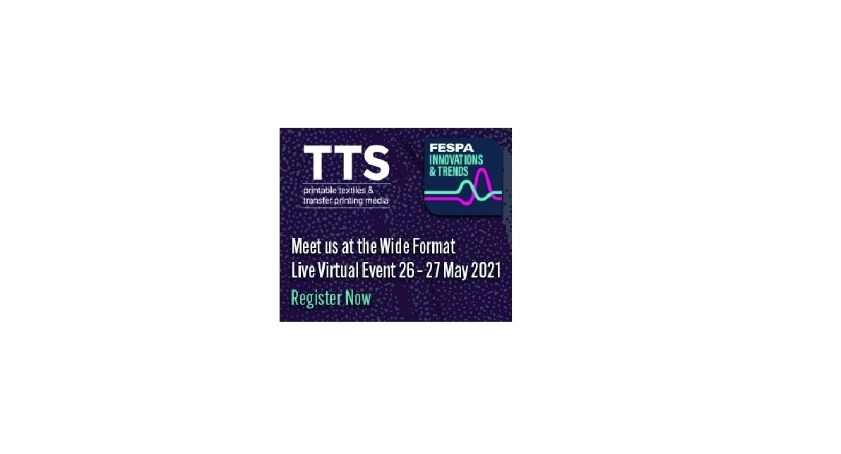 Main image TTS attends FESPA Innovations and Trends Live Virtual Event