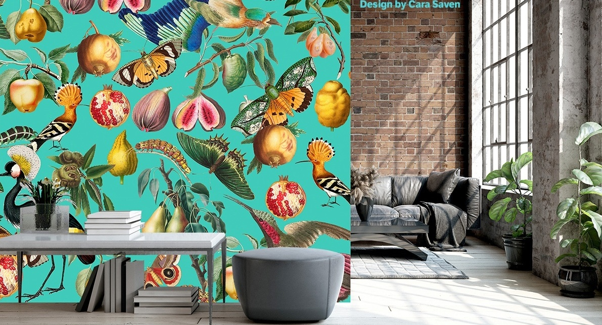 Main image MuroSubli® the PVC-free textile wallpaper for sublimation