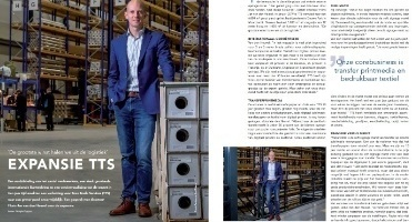 Hoofdafbeelding TTS in de media: Artikel in Sign+ Magazine, nummer 1