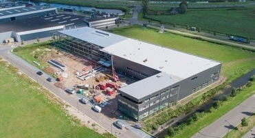News image New building update