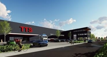 News image New energy-neutral company premises for TTS