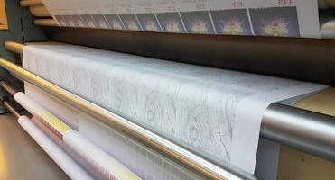 Main image Market for printing textiles reverts to transfer paper