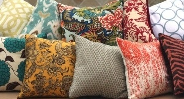 News image Furniture Soft textile for pillows and furniture coverings
