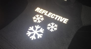 Main image Make yourself visible during winter with our reflective cutting films