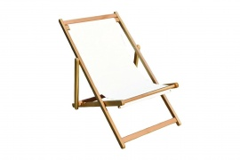 Wooden Beach Chair (without fabric)
